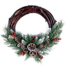 Finley Grapevine Wreath