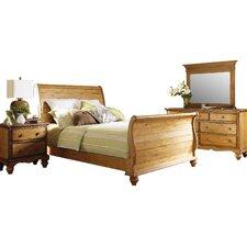 Harlowton Sleigh 4 Piece Bedroom Set