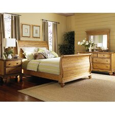 Harlowton Sleigh 5 Piece Bedroom Set