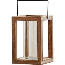 Rustic Wooden Garden Lantern