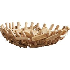 Laporte Driftwood Centerpiece Decorative Bowl