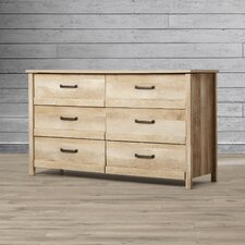 Sunlight Spire 6 Drawer Dresser