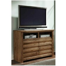 Bear Springs 4 Drawer Media Chest