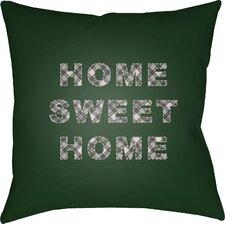 Black Pine Indoor Outdoor Throw Pillow