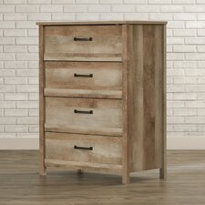 Sunlight Spire 4 Drawer Lingerie Chest