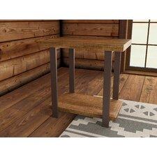 Somers Reclaimed Wood/Metal End Table