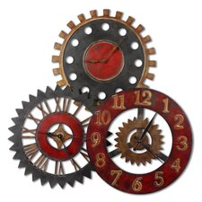 "Oversized 35.25"" Movements Clock"