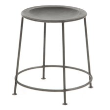 "17"" H Iron Counter Stool"