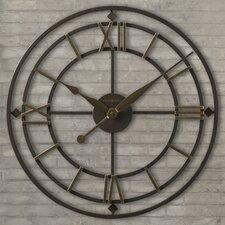 "Designer Choice York Station 21.25"" Wall Clock"