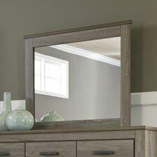 Orange Rectangular Dresser Mirror