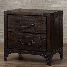 Sedgwick 2 Drawer Nightstand