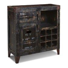 Truckee 9 Bottle Floor Wine Cabinet