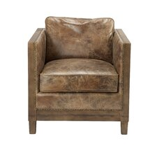 Dringenberg Leather Club Chair