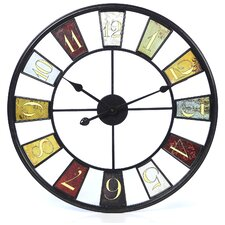 "Millary Oversized 24"" Kaleidoscope Wall Clock"