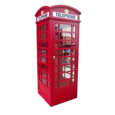 London Telephone Booth Sculpture