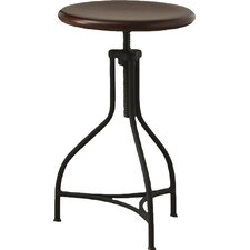 Elgin Adjustable Height Swivel Bar Stool