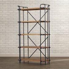 """Brookshire 66.75"""" Accent Shelves Bookcase"""