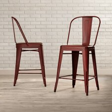 "South Gate 26"" Bar Stool (Set of 2)"