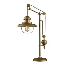 """Carovilli 32"""" H Table Lamp with Bell Shade"""