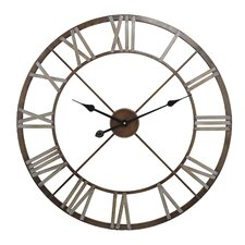 "27"" Open Center Iron Wall Clock"