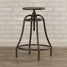 Carpinteria Adjustable Height Swivel Bar Stool