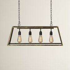 Suisun City 4 Light Kitchen Island Pendant