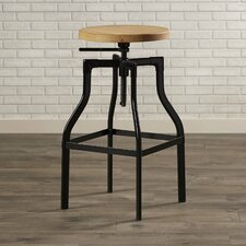 Donington Adjustable Height Swivel Bar Stool