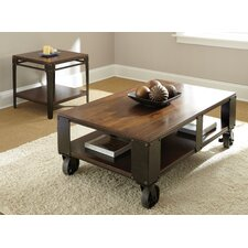2 Piece Coffee Table Set