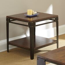 Wheelright End Table