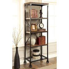 """Madera 63"""" Accent Shelves Bookcase"""