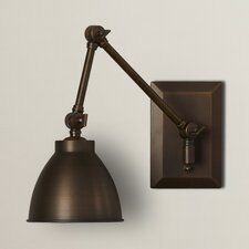 Bluntleaf Swing Arm Wall Sconce