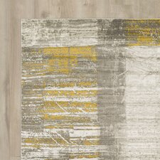 Chartwell Light Gray/Gold Area Rug