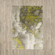 Chartwell Light Gray/Lime Area Rug