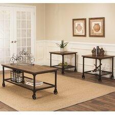 Bretonneux 3 Piece Coffee Table Set