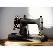 Decorative Resin Vintage 1913 Singer Model 66 Hand Crank Sewing Machine Replica Decor