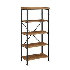 """Knapp 54.02"""" Accent Shelves Bookcase"""