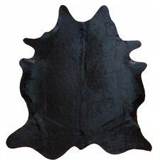 Glendale Brazilian Cowhide Natural Black Area Rug