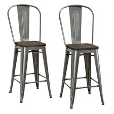 "Fortuna 24"" Bar Stool (Set of 2)"