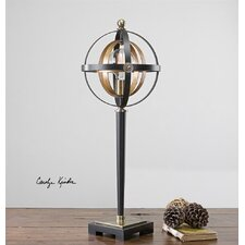 """28"""" H Table Lamp with Sphere Shade"""