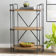 "Brookshire 40.5"" Accent Shelves Bookcase"