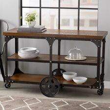 Radner Wheeled Sofa Table