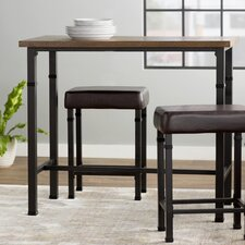 Billancourt 3 Piece Pub Table Set