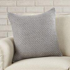 Hekimhan Woven Leather Throw Pillow
