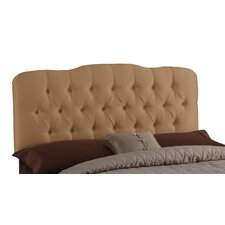 Cooper Tufted Shantung Arch Upholstered Headboard
