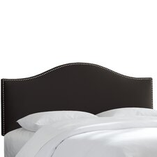 Cyd Nail Button Upholstered Headboard