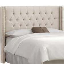 Grammont Tufted Linen Upholstered Headboard