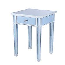 Norton Mirror End Table