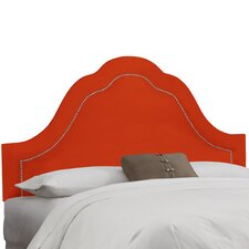 Mystere Inset Nail Button Arch Headboard