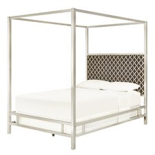 Chattel Panel Bed with Vulcan Upholstered Headboard