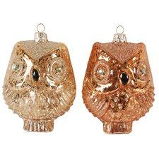 Owl Ornament (Set of 2)